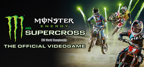 Monster Energy Supercross - The Official Videogame logo
