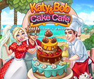 Katy And Bob: Cake Cafe Collector's Edition logo