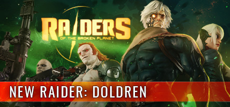 Raiders of the Broken Planet logo
