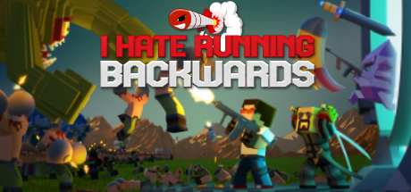 I Hate Running Backwards logo