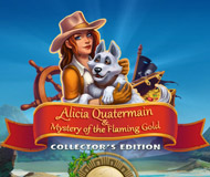 Alicia Quatermain and Mystery of the Flaming Gold Collector's Edition logo