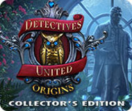 Detectives United: Origins Collector's Edition logo