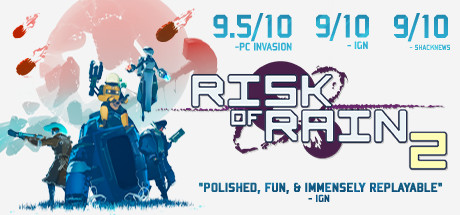 Risk of Rain 2 logo