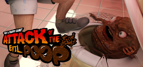 Attack of the Evil Poop logo
