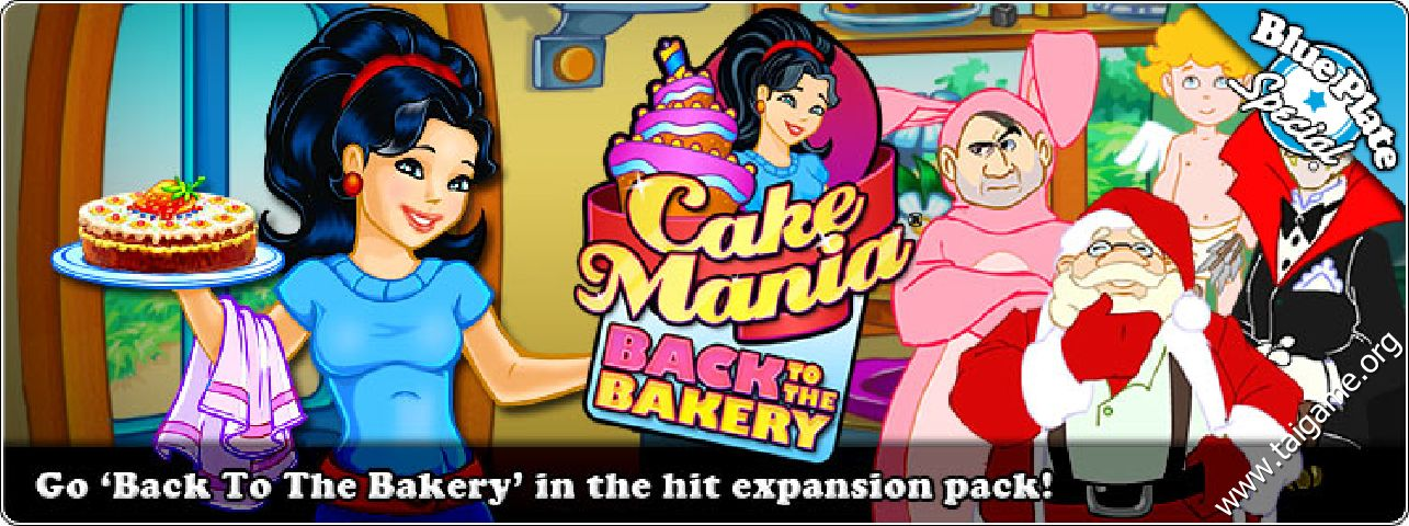Cake Mania Back To The Bakery Game