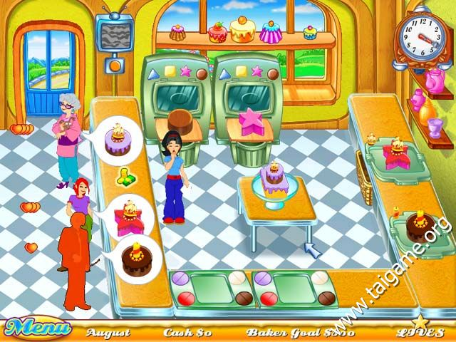 Cake Shop  Game Play Free Online