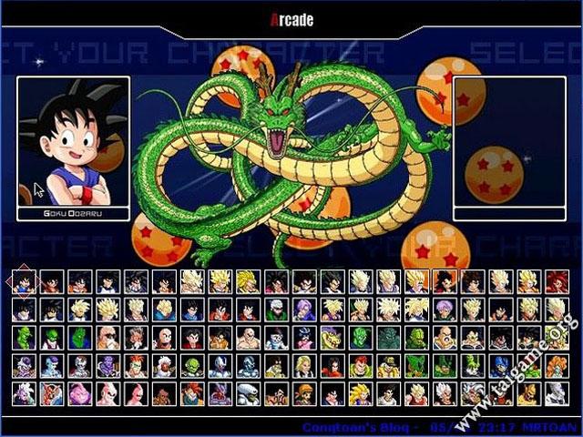 dragon ball z games download