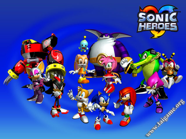 Sonic Heroes Download Free Full Games Arcade Amp Action