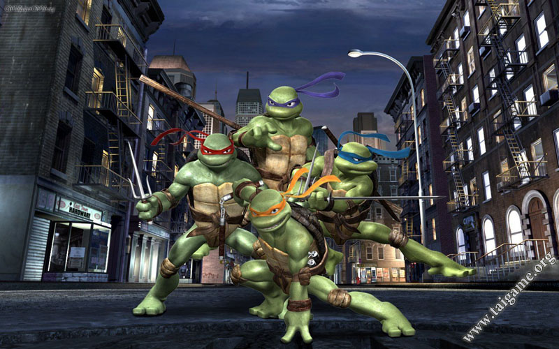 tmnt 2007 only crack skyflat pc game