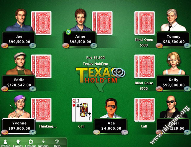 play casino card game