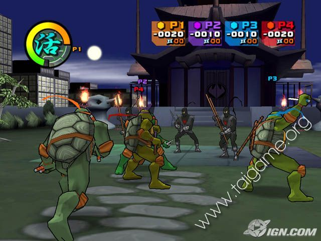 Teenage mutant ninja turtles 2003 full pc game free download