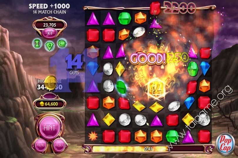 how to make bejeweled 3 full screen