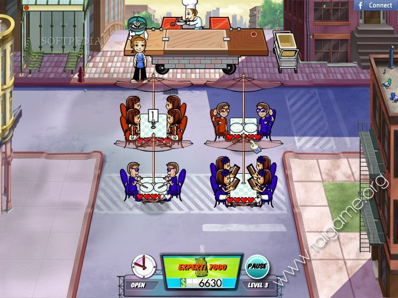 diner dash hometown hero free  full version for pc