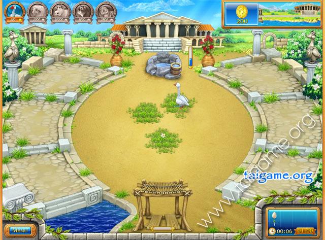 Farm Frenzy: Ancient Rome - Tai game   Download game Quản lý