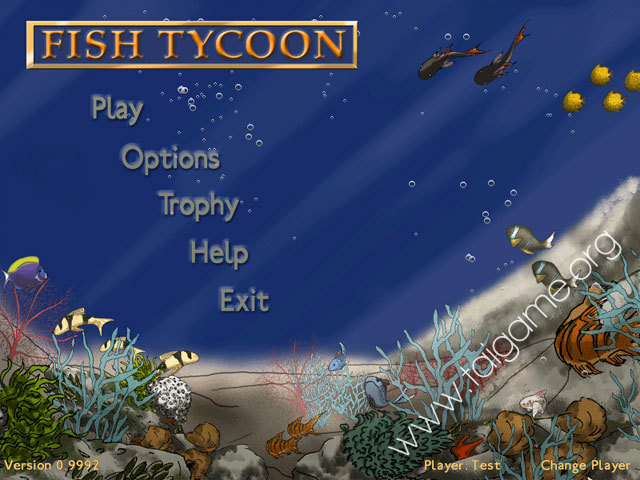Fish tycoon download free full games simulation games for Fish tycoon 2
