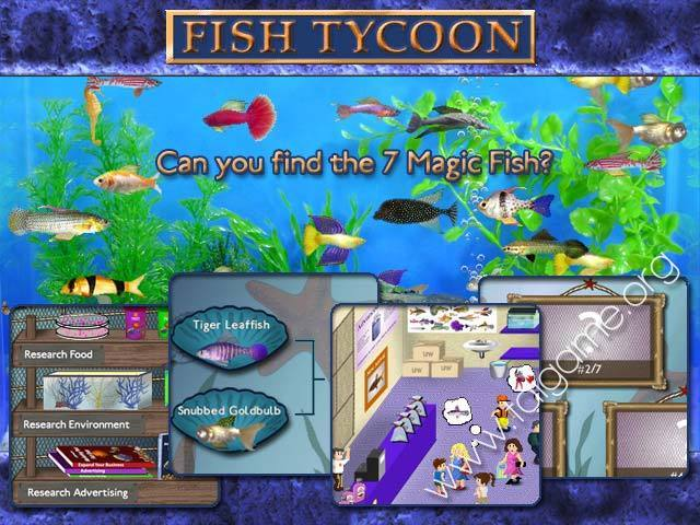 Fish tycoon download free full games simulation games for Fish tycoon games