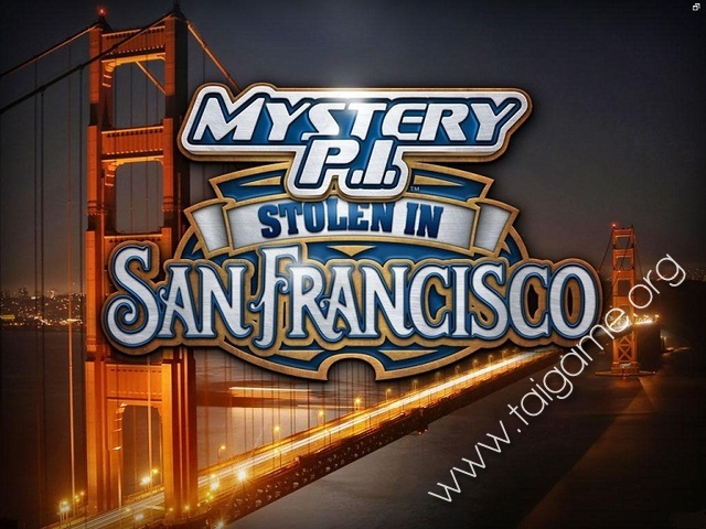 Mystery P I Stolen In San Francisco Download Free Full