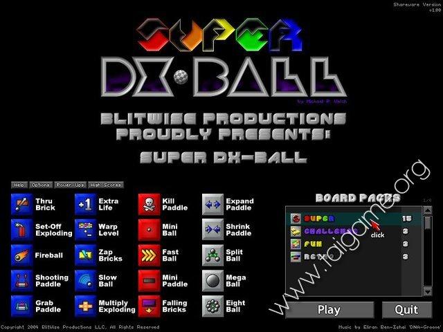dx ball