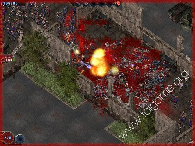 zombie shooter flash game