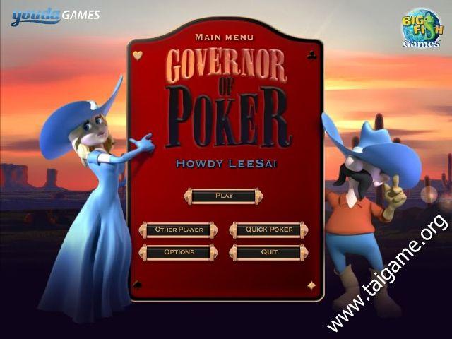 Governor of poker free full