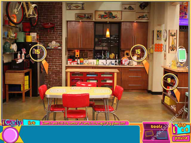 Game iCarly The Ultimate Game online