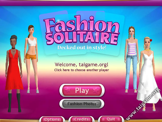 Fashion Solitaire  Online Game