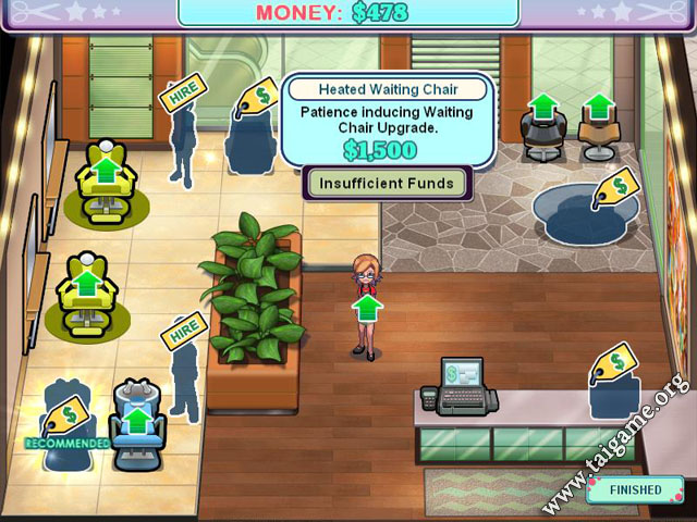 Sally 39 s salon download free full games time management for Salon games free download