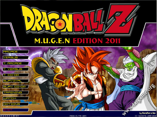 dragon ball z fighting game free download