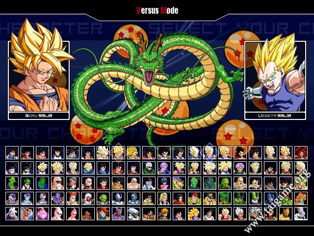 Tai game dragon ball z mugen edition 2011.