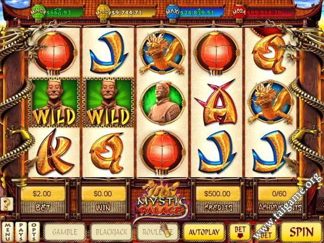 mystic palace slot game