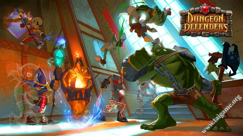 dungeon defender flash game