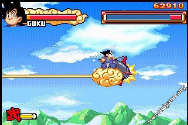 Dragon ball: advanced adventure symbian game. Dragon ball.