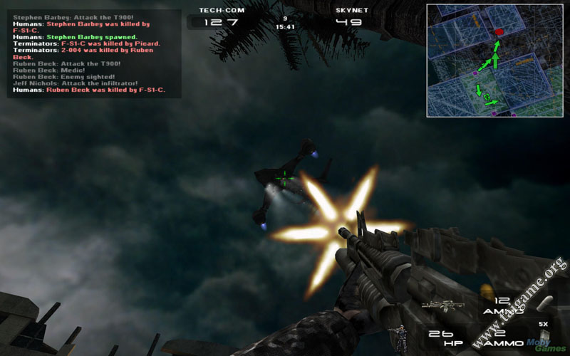 Terminator 3: war of the machines download free full games.