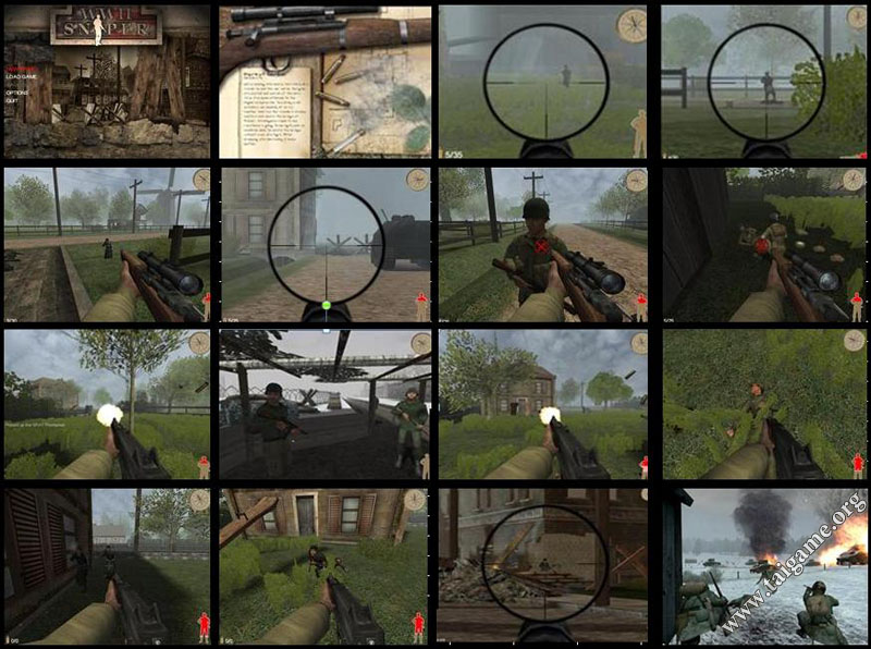 World War II Sniper Call to Victory Cheats