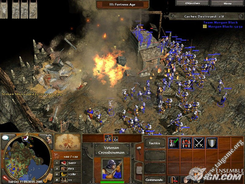 Age of empires 3 flash game