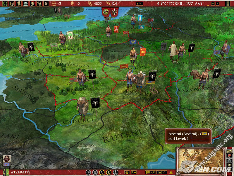 Europa Universalis III Rome Complete Download Free Full Games - Eu rome map