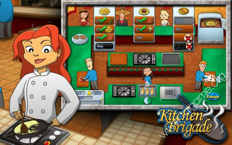 Kitchen Brigade Download Free Full Games