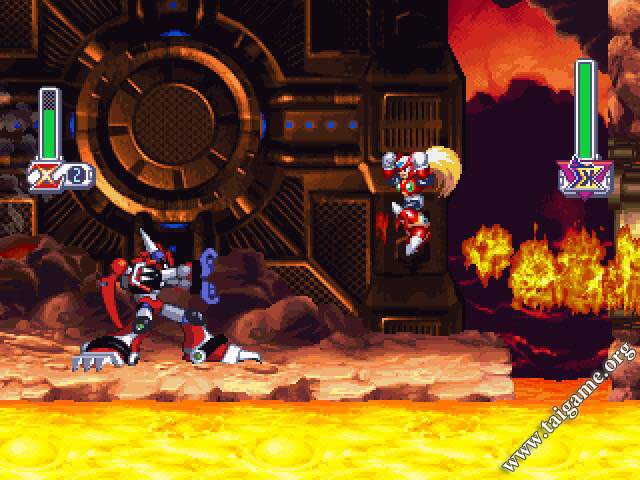 Megaman X5 (Rockman X5) - Download Free Full Games   Arcade