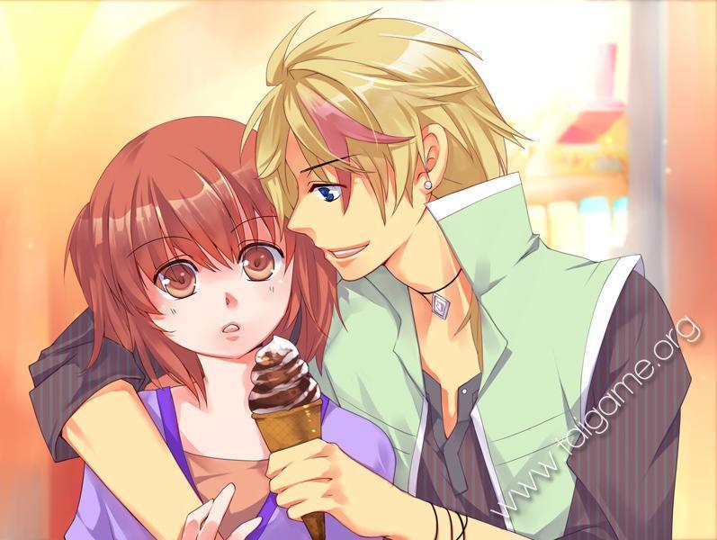 Comiendo chocolate frente su esposo - 5 2