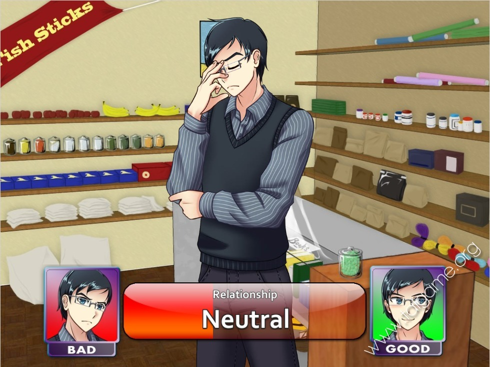 Adult dating sim breaking the facade