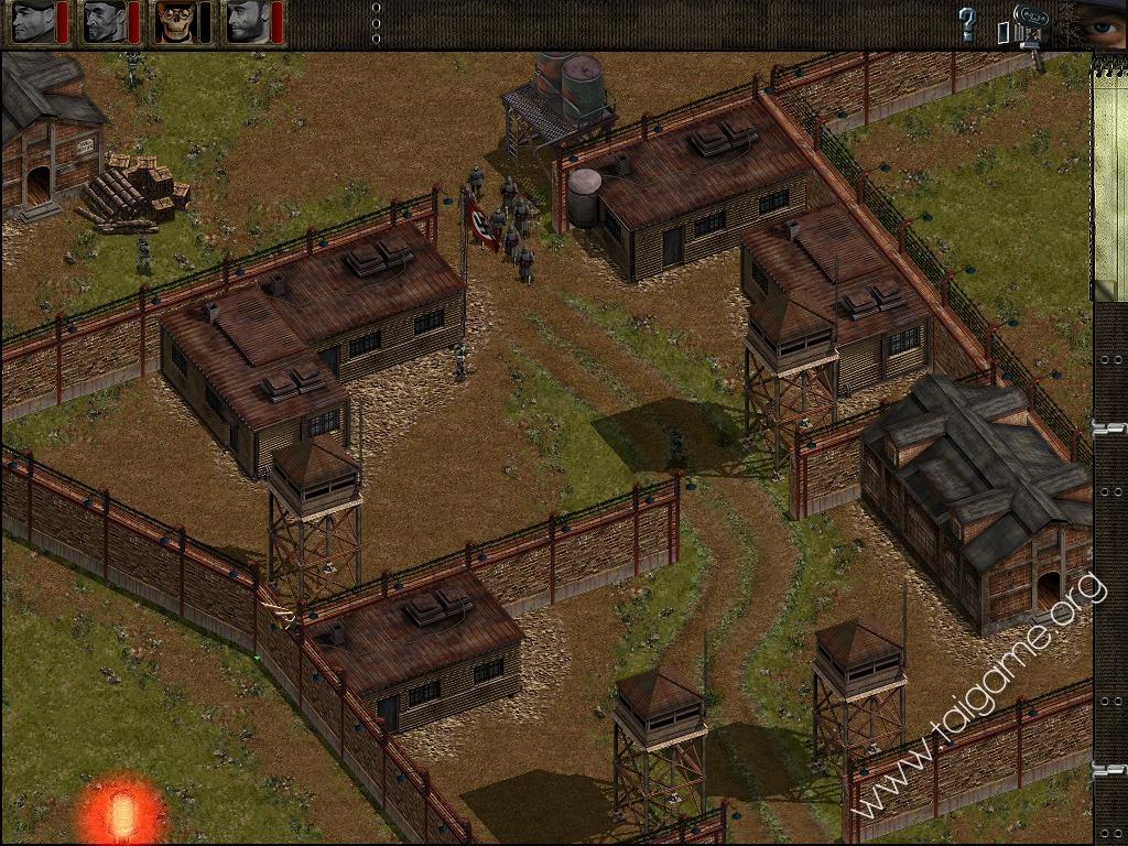 Почему не сохраняется игра commandos