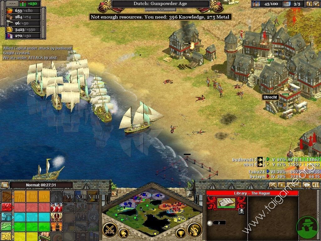 strategy games pc online free