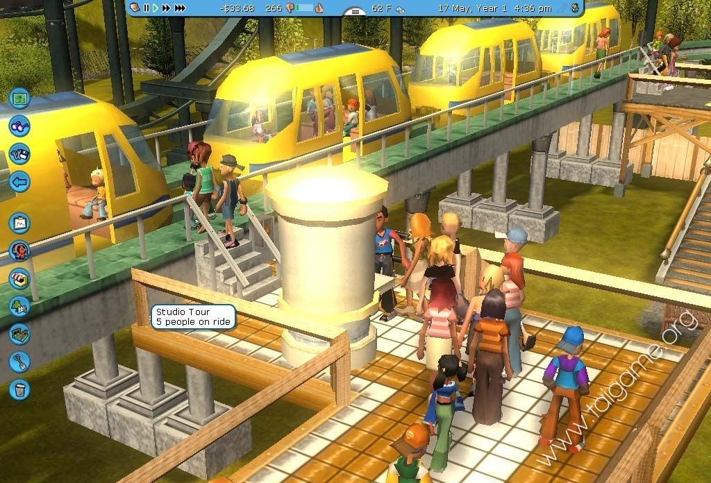 RollerCoaster Tycoon 3: Platinum - Tai game | Download game Mô phỏng