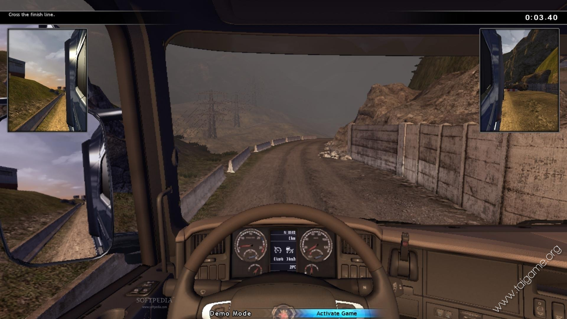 driving simulation game