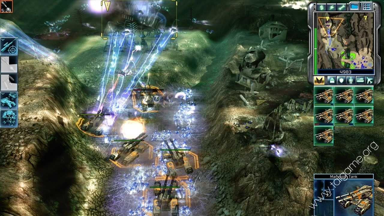 command and conquer online flash