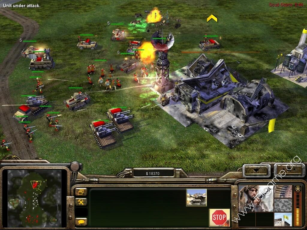 Command and Conquer Generals (Extremely Compressed) (Strategy) game hack