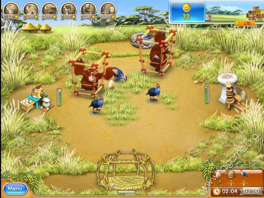 Farm Frenzy 3: Madagascar - Tai game | Download game Quản