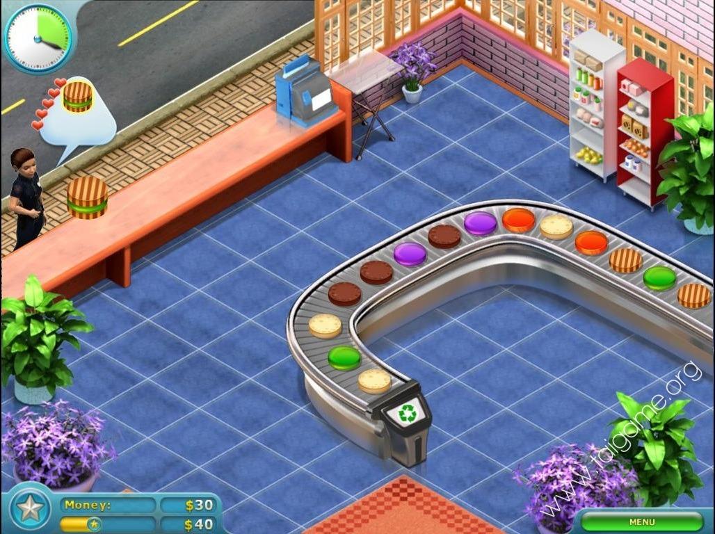 Online games cake shop