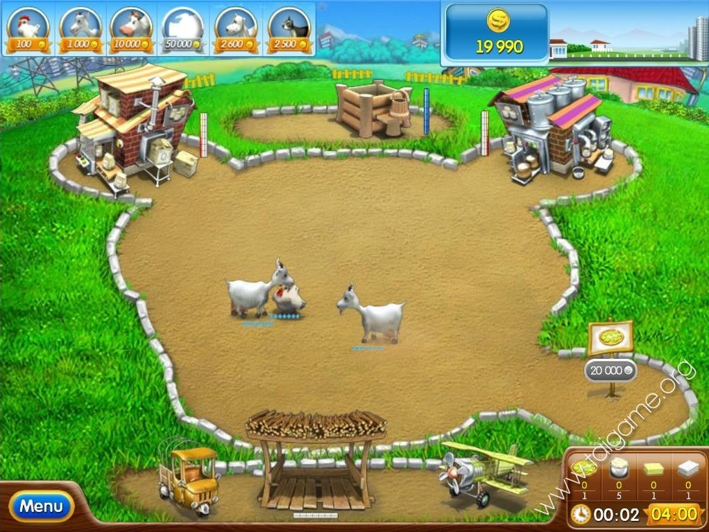 Farm frenzy pizza party download free full games time for Feed and grow fish free download full game