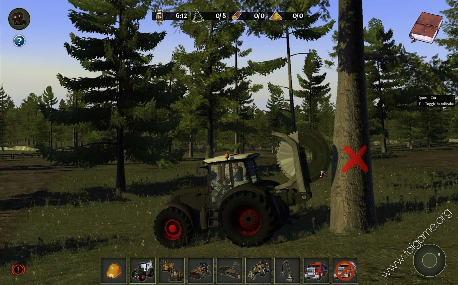 My Free Farm 2 Holzfäller